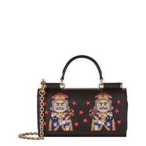 Dolce & Gabbana Dauphine Tulip Gloss Phone Bag | Harrods