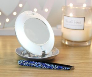 Up to a $1500 GIFT CARD Tweezerman LED 15x Lighted Mirror