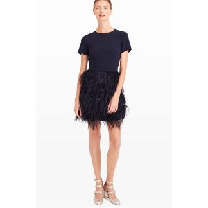 Brionia Feather Dress