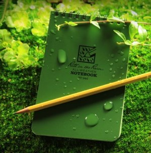 $4.95 Rite in the Rain - Green Tactical Note Book (All Weather)