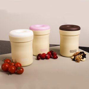 Bonke Snack Container, 12 Oz Food jar
