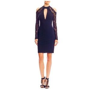 Kendall Lace Keyhole Dress
