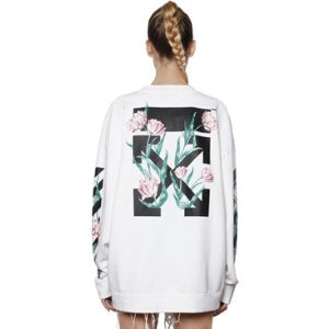 OFF WHITE - M65 EMBROIDERED CANVAS FIELD JACKET - CASUAL JACKETS - WHITE/BLACK - LUISAVIAROMA