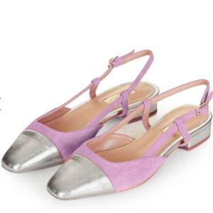 KISS-ME Ballet Sling Back Shoes