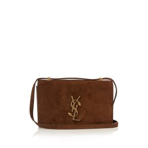 Dylan small suede cross-body bag Saint Laurent