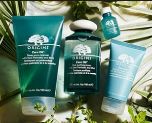 Dealmoon Exclusive! 20% Off + GWP Zero Oil Collection @ Origins