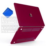iBenzer Basic Soft-Touch Series Plastic Hard Case Cover for newest Apple Macbook Pro 13&15 in