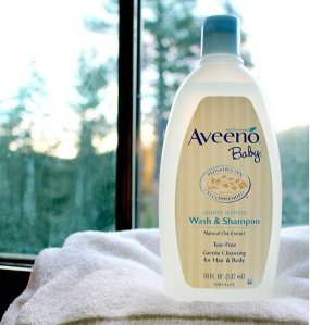 $6.79 Aveeno Baby Wash & Shampoo with Natural Oat Extract 18-Ounce