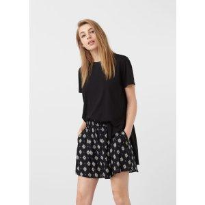 Flowy printed skirt - Woman | MANGO USA