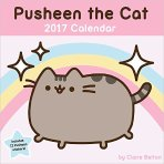 $10.66 Pusheen the Cat 2017 Wall Calendar