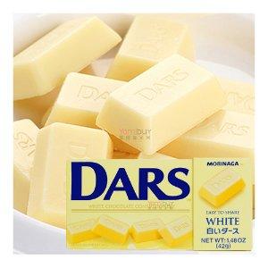 MORINAGA Dars White Chocolate Confectionery 42g [B2G1 Free]