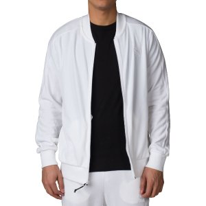 PUMA VELOUR T7 JACKET - White | Jimmy Jazz - 57291102-100