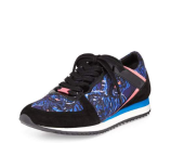 Kenzo Flying Tiger Trainer Sneaker, Bleu Canard