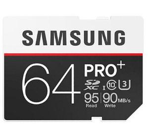 $44Samsung Pro Plus 64GB SDXC Memory Card MB-SD64D/AM