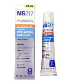 $7.59 MG217 Psoriasis Non-Drying Multi-Symptom 2% Coal Tar Gel, 1.5 Ounce