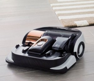 Samsung POWERbot Cleaning Robot Vacuum Airborne Copper