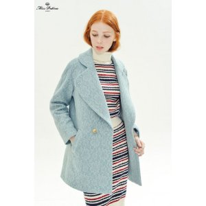 Primrose Coat (Pale Blue) - Miss Patina - Vintage Inspired Fashion