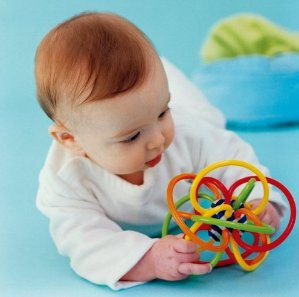 Manhattan Toy Winkel Rattle and Sensory Teether Activity Toy
