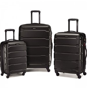 Samsonite Omni PC 3 Piece Set Spinner 20 24 28