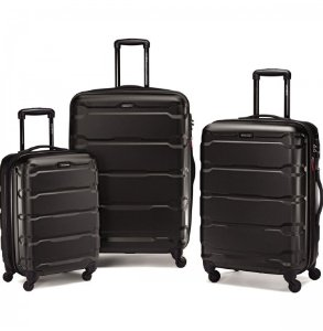 $248.99 Samsonite Omni PC 3 Piece Set Spinner 20 24 28