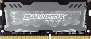 Ballistix Sport LT 8GB Single DDR4 2400 MT/s (PC4-19200) SODIMM 260-Pin Memory