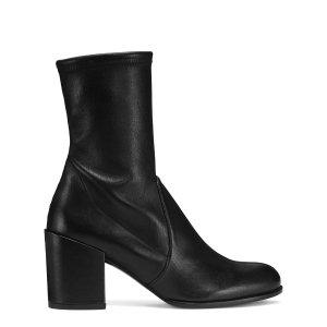 Calare Block Heel Booties - Shoes   Shop Stuart Weitzman