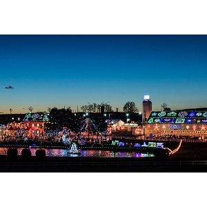 【宾州圣诞村】超值欢乐1天:冒险水族馆+长木花园+圣诞村