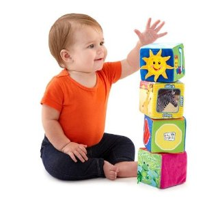 Prime Member Only! Baby Einstein Explore and Discover Soft Block Toys