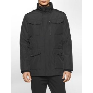 soft shell military jacket | Calvin Klein