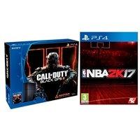 $299.99 PlayStation 4 500 GB Call of Duty Black Ops III Bundle + NBA 2K17