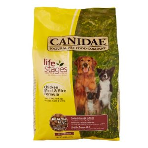Canidae Life Stages 肌肉和米饭 干狗食 5磅