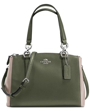 $221.25 COACH Colorblock Mini Christie Carryall Satchel @ macys.com