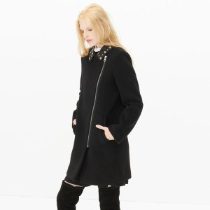 Malory Coat - The Coat Shop - Sandro-paris.com