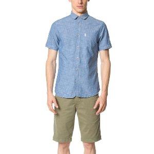 Ben Sherman Short Sleeve Chambray Shirt