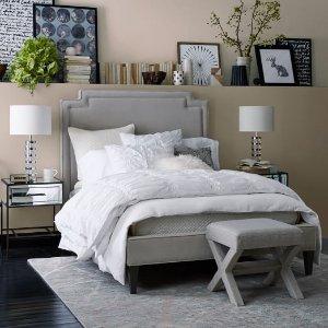 Harlow Upholstered Bed - Performance Velvet | west elm