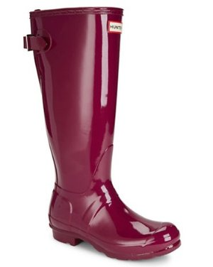 HUNTER Original Back-Adjustable Gloss Rain Boots @ Lord & Taylor