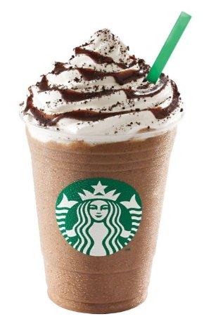 50% OffAny Frappuccino @ Starbucks