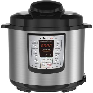 $69.99 Newest Model Instant Pot Lux V3 6-qt 6-In-1 Multi-Functional Electric Pressure Cooker, Stainless Steel