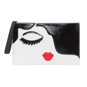 Kissy Face Large Clutch - Novelty Bags - T.J.Maxx