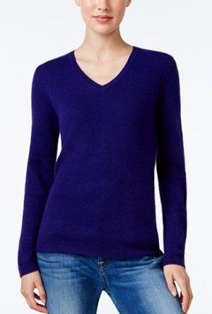 Charter Club Cashmere Sweater @ macys.com