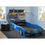 $169 Delta Children Turbo Race Car Twin Bed, 3 Colors