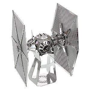 Star Wars: The Force Awakens First Order TIE Fighter Metal Earth Model | Disney Store