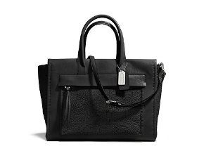 COACH Bleecker Leather Pocket Carryall