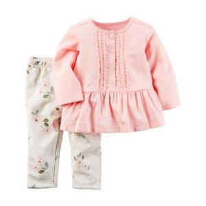 Baby Girl 2-Piece Top & Legging Set   Carters.com