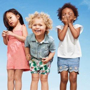 40% Off Flash Sale Kids + Baby Clothing @ Gap.com