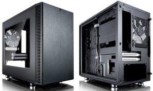 $49.99(原价$89.99)Fractal Design Define Nano S ITX 侧透机箱