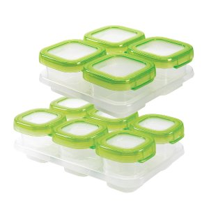 OXO Tot Baby Blocks Food Storage Container 12 Piece Set - Oxo Tot - Toys