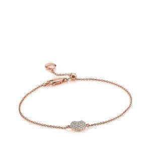Monica Vinader Nura Mini Heard Bracelet