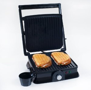 $15.75 Chef Buddy 82-SW73 Non-Stick Grill and Panini Press, Large
