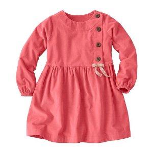 Girls Pincord Peasant Dress | Girls Dresses